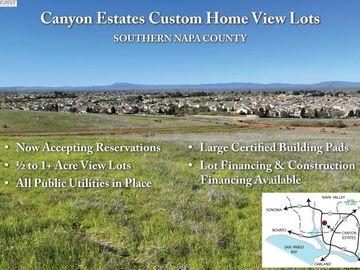107 Canyon Estates Cir Lot 5, American Canyon, CA