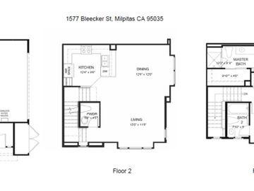 1577 Bleecker St, Milpitas, CA, 95035 Townhouse. Photo 4 of 29
